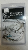 Fuzzy's Clip-N-Go (Med. Fluorocarbon)